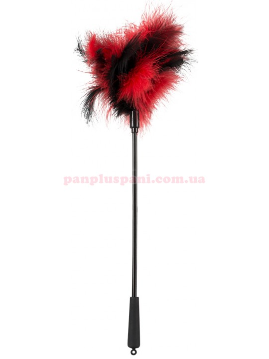 Метёлочка - 2492121 Feather Wand red/white