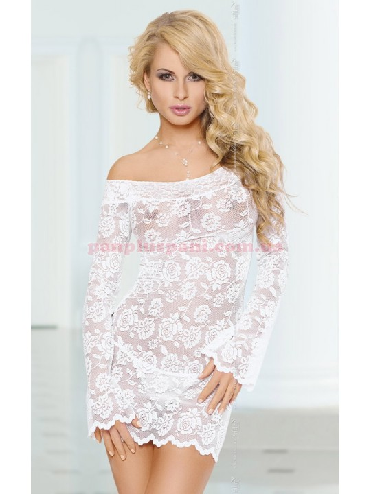Платье - Lamia, белое, M/L