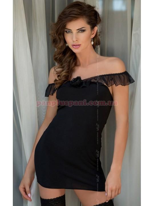 Платье - Adeline, чёрное, S/M