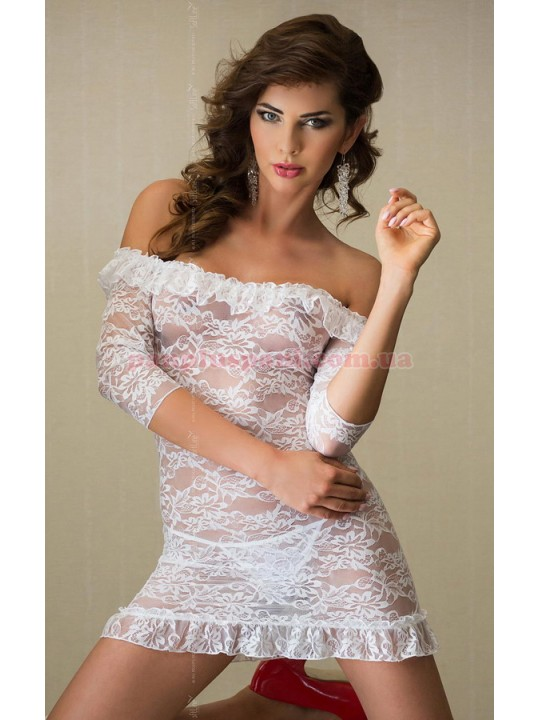 Платье - Agathe, белое, M/L