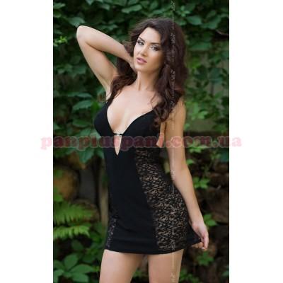 Платье - Aksen, чёрное,  L