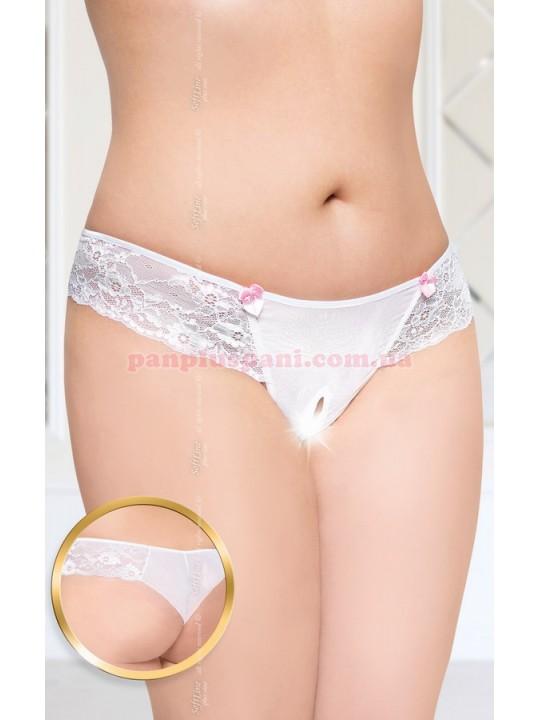 Трусики - Panties 2424 Plus Size, белые, XXL