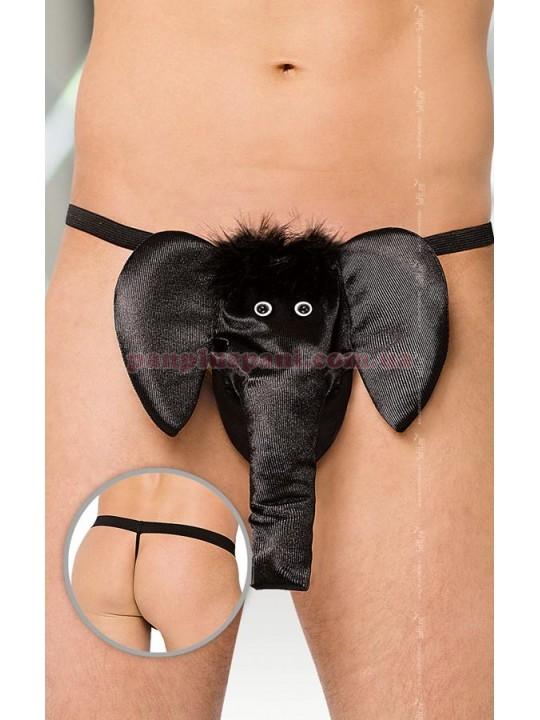 Мужские трусы Слон, чёрные, S-L