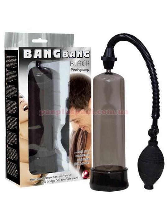 Вакуумная помпа Penis Pump Bang Bang Black