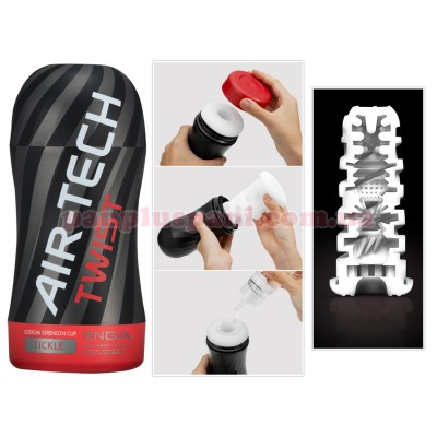 Мастурбатор Tenga Air-Tech TWIST Tickle Red