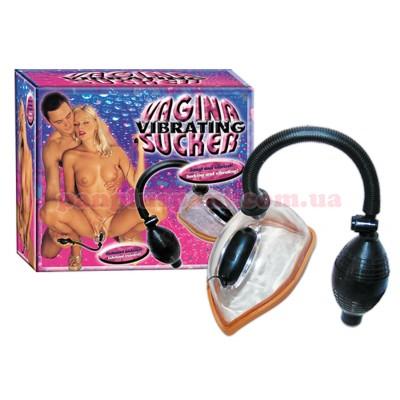 Вакуумная помп а- Vibrierender Vagina Sucker