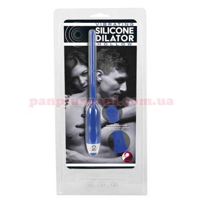 Стимулятор уретри Silicone Dilator Hollow з вибрацією