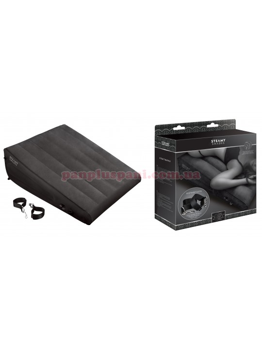 Подушка STEAMY SHADES Deluxe Inflatable Wedge & Restraint Cuffs