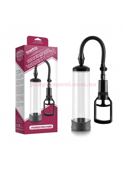Вакуумная помпа - Maximizer Worx VX1 Power Pump Clear+Black