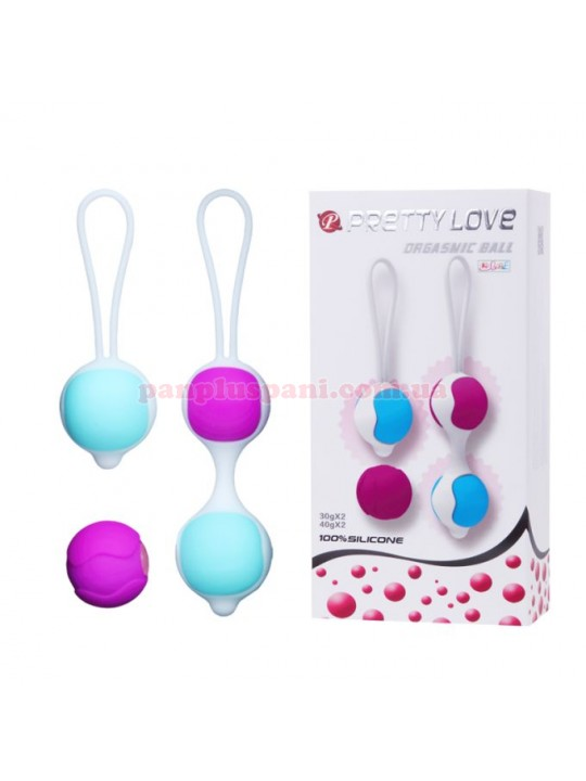 Набір вагінальних кульок Pretty Love Orgasmic Ball BI-014265