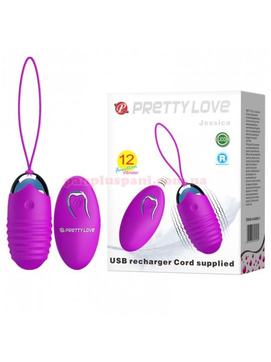 Віброяйце Pretty Love Jessica BI-014362W-3