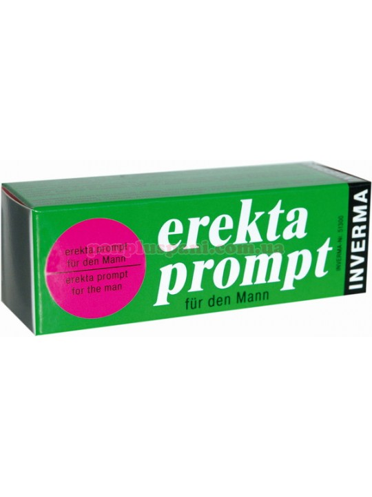 Крем - EREKTA PROMPT FUR MANN, 13мл