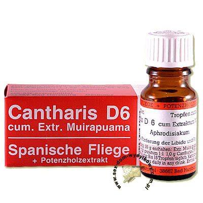 Капли возбуждающие для двоих Cantharis D6 10 мл