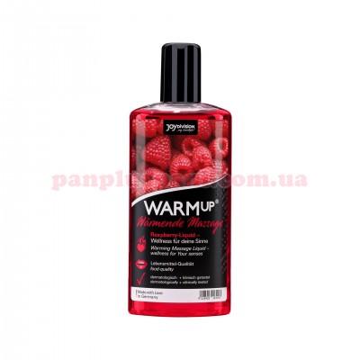 Массажное масло WARMup Raspberry съедобное согревающее 150 мл