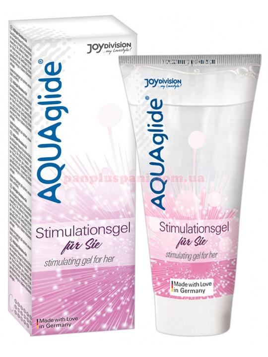 Лубрикант - AQUAglide stimulating gel for her, 25 мл