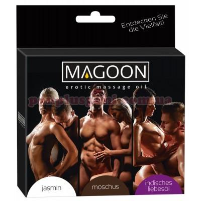 Массажное масло Magoon Set 3х50 мл