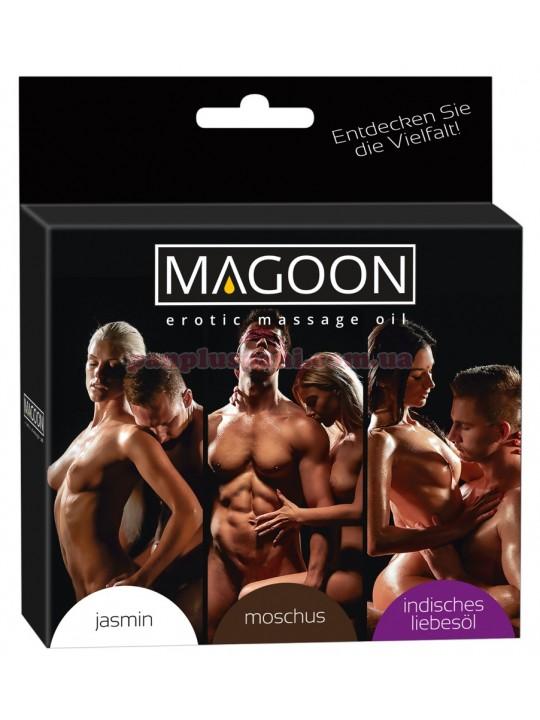 Набор массажных масел Magoon Set 3х50 мл