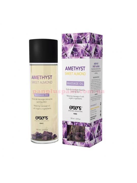 Массажное масло EXSENS Amethyst Sweet Almond расслабляющее с аметистом 100 мл