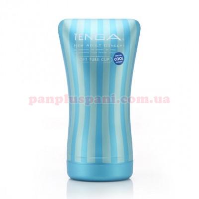 Мастурбатор Tenga Soft Tube Cup Cool Edition