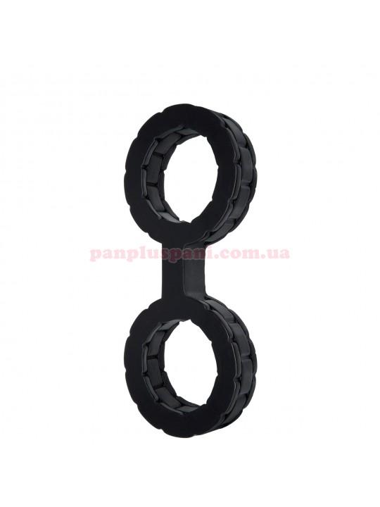 Наручники силиконовые Doc Johnson The Cuffs Small - Black