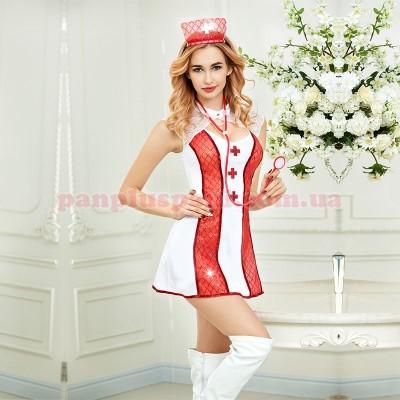 Эротический костюм медсестры Соблазнительная Адриана