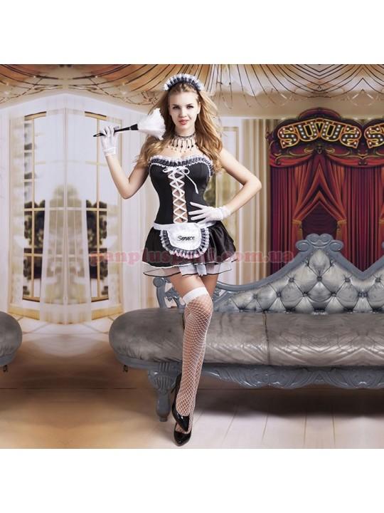Эротический костюм горничной Волшебница Элис