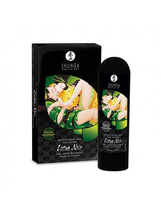 Збуджуючий гель для пар Shunga Lotus Noir 60 мл