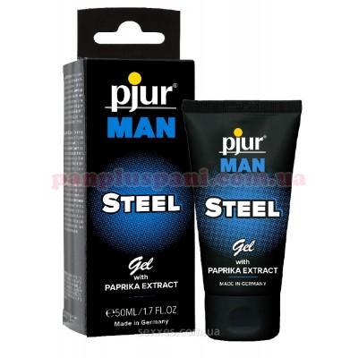 Стимулирующий гель для пениса Pjur MAN Steel Gel 50 мл