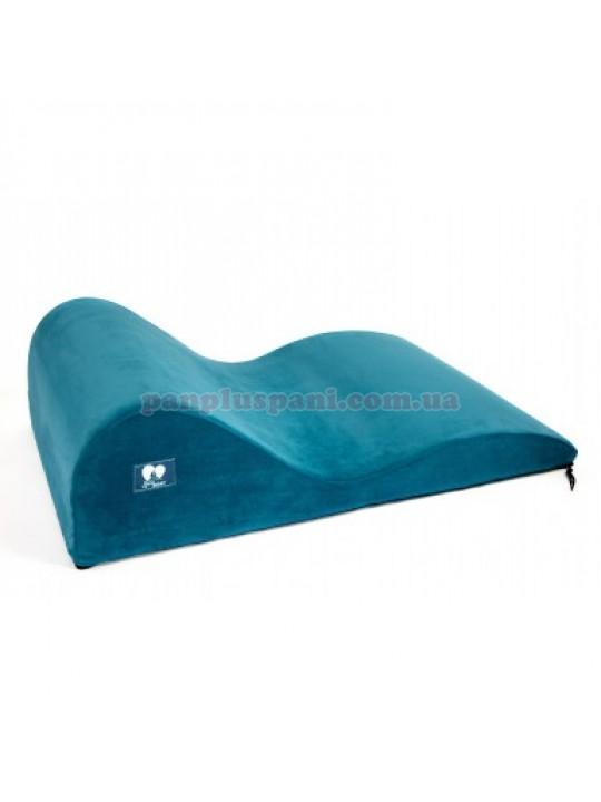 Подушка для сексу LoveBoat Wave бірюзова