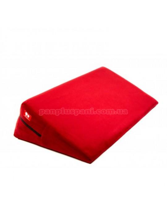 Подушка для секса LoveBoat Wedge красная