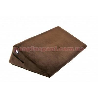 Подушка для секса LoveBoat Wedge коричневая