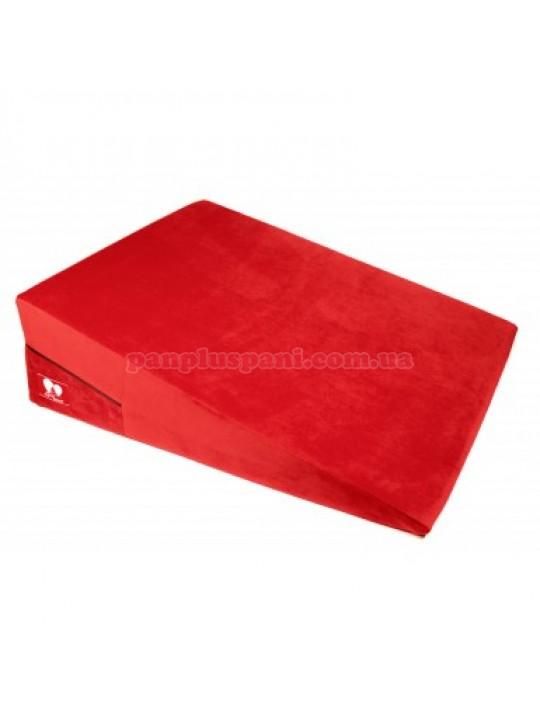 Подушка для сексу LoveBoat Ramp червона