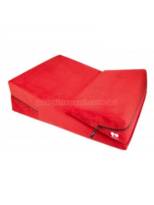 Подушка для секса LoveBoat Combo (Wedge и Ramp) красная