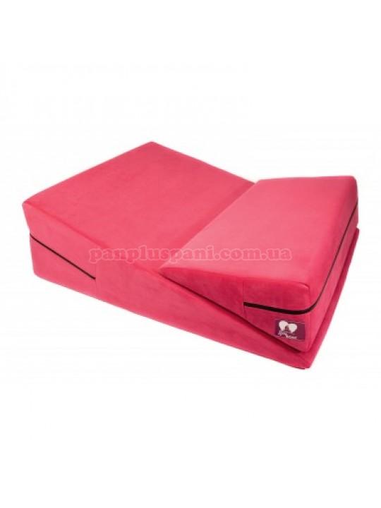 Подушка для сексу LoveBoat Combo (Wedge і Ramp) рожева