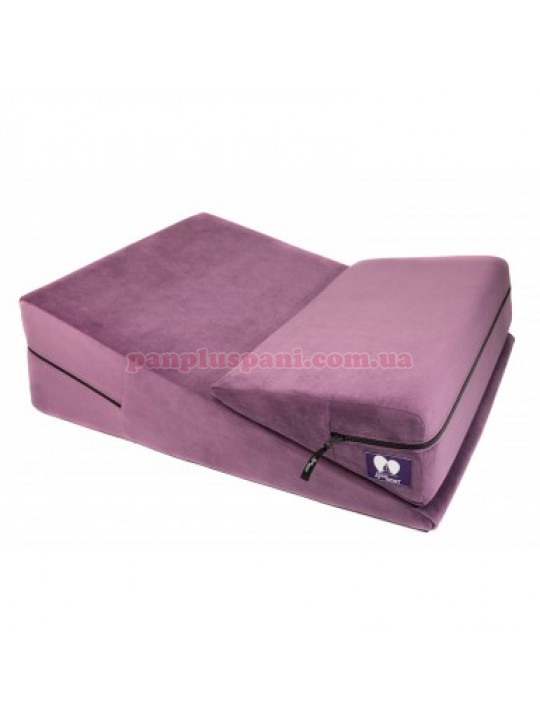 Подушка для секса LoveBoat Combo (Wedge и Ramp) фиолет