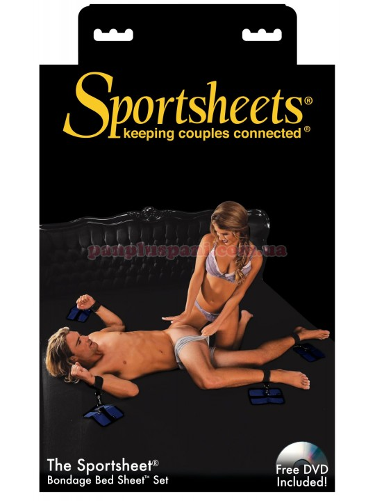 Простыня для эротических пыток Sportsheets Queen Size