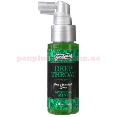 Спрей для минета Doc Johnson GoodHead Deep Throat Spray Mystical Mint 59 мл