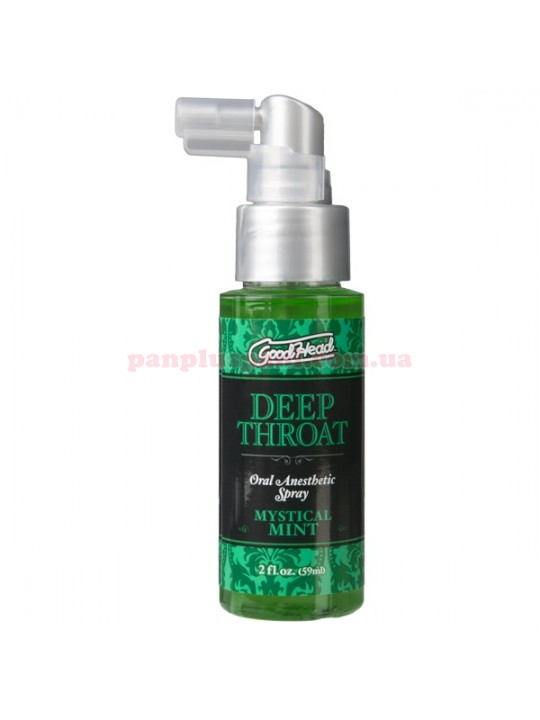 Спрей для минета Doc Johnson GoodHead Deep Throat Spray Mystical Mint 59 мл