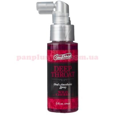 Спрей для минета Doc Johnson GoodHead Deep Throat Spray Wild Cherry 59 мл