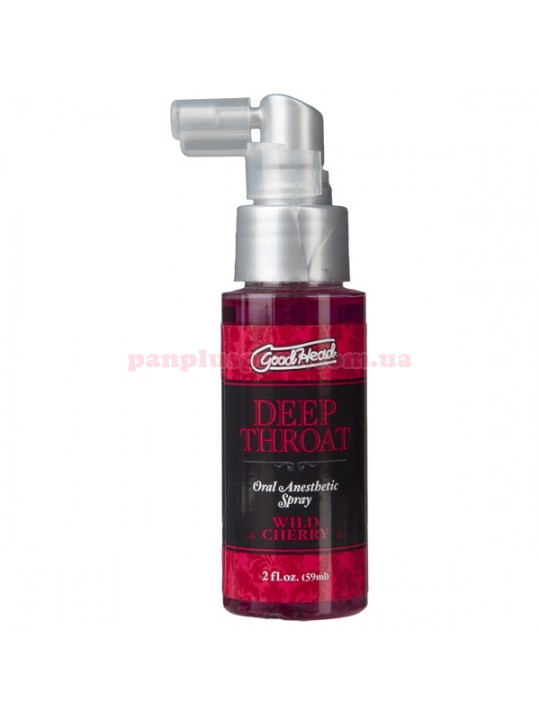 Спрей для минета Doc Johnson GoodHead Deep Throat Spray Wild Cherry 59 мл