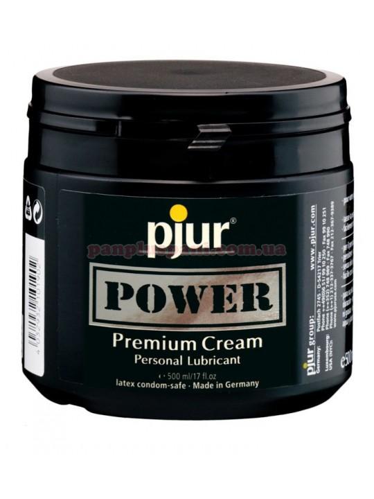 Лубрикант Pjur Power Premium Cream для фистинга на водно-силиконовой основе 500 мл