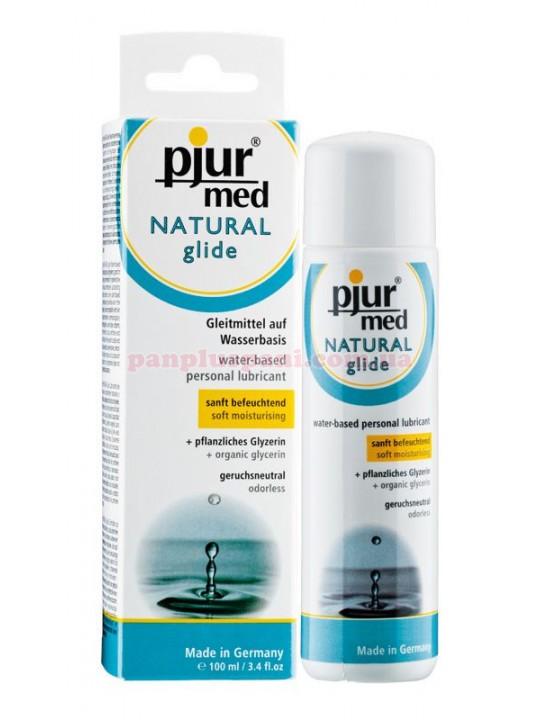 Лубрикант Pjur MED Natural на водній основі для чутливої шкіри 100 мл