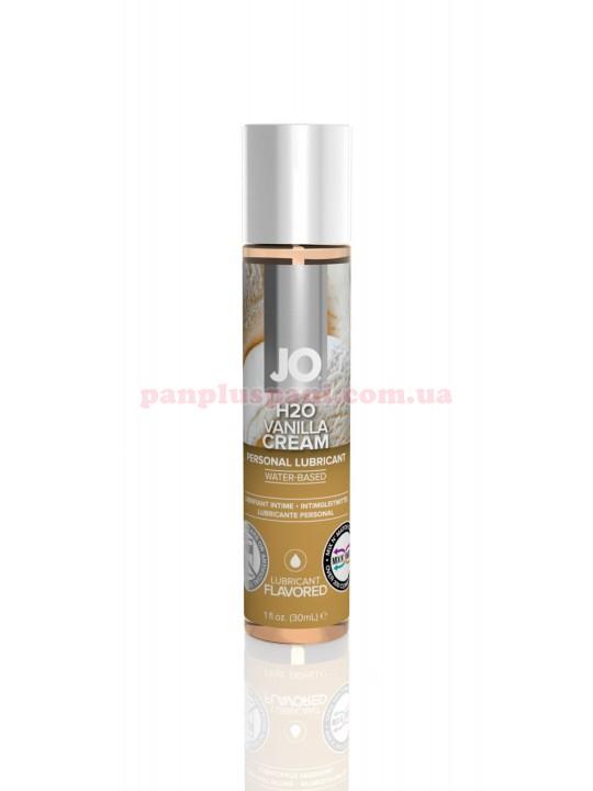 Лубрикант System JO H2O Vanilla Cream съедобный на водной основе 30 мл