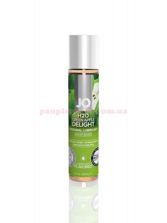 Лубрикант System JO H2O Green Apple Delight съедобный на водной основе 30 мл