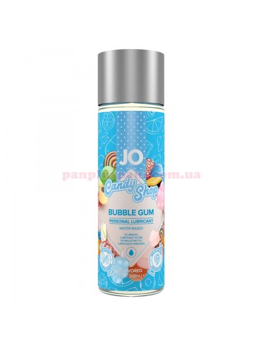 Лубрикант System JO Candy Shop Bubble Gum съедобный на водной основе 60 мл