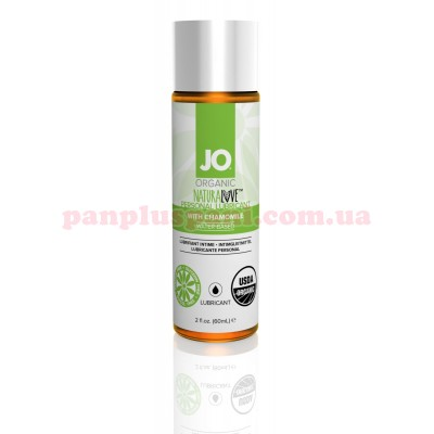 Лубрикант System JO Naturalove Organic на водной основе 60 мл