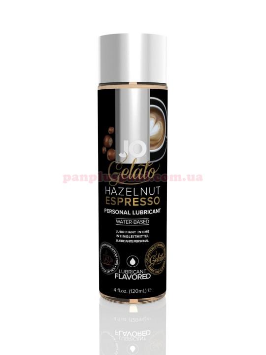 Лубрикант System JO Gelato Hazelnut Espresso съедобный на водной основе 120 мл