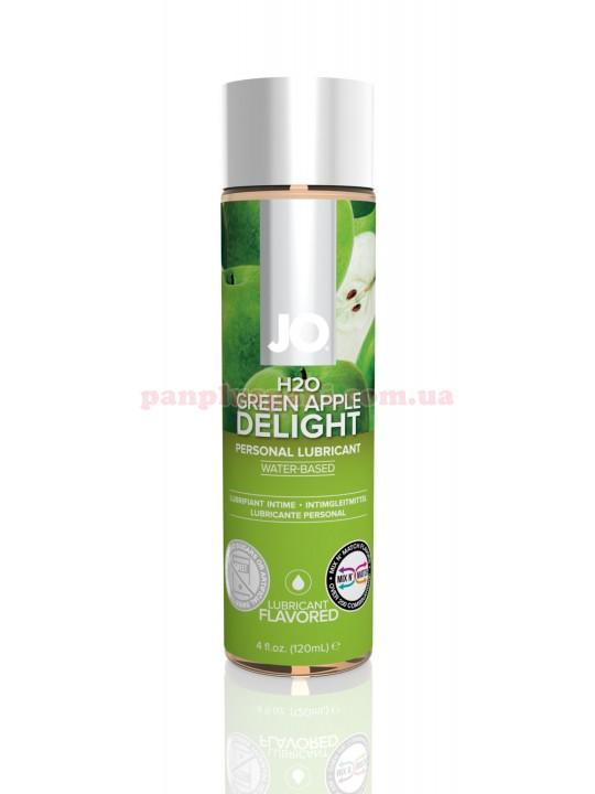 Лубрикант System JO H2O Green Apple Delight съедобный на водной основе 120 мл