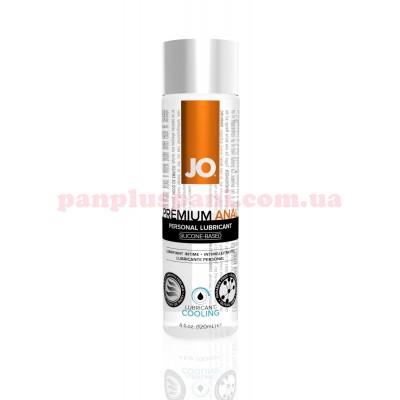 Лубрикант System JO Anal Premium Cooling анальный охлаждающий на силиконовой основе 120 мл