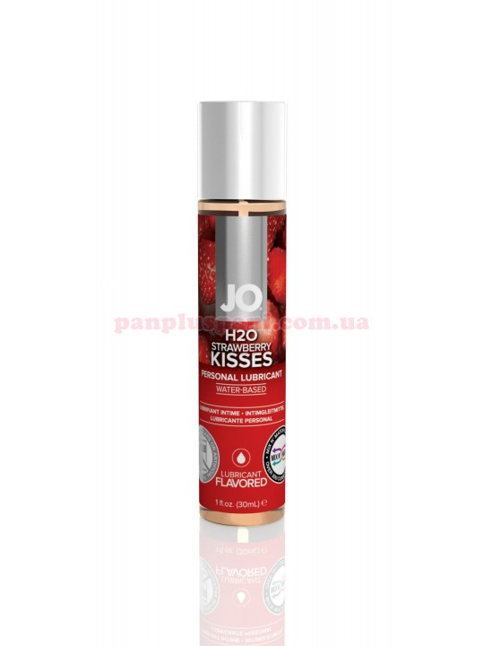Лубрикант System JO H2O Strawberry Kiss съедобный на водной основе 30 мл